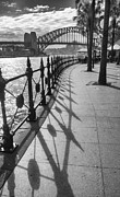 Sheila Smart - Railings at Sydney...