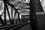 Jahred Allen Photography Posters - Railroad Bridge Poster by Jahred Klahre