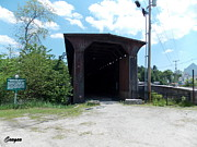Catherine Gagne - Railroad Covered Bridge