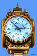 Barry Jones - Railroad Park Clock