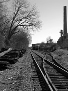 Greg Simmons Prints - Railroad Siding Print by Greg Simmons