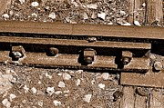 Railroad Track Print by Andres LaBrada