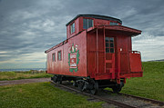 Randall Nyhof - Railroad Train Red Caboose on Prince Edward Island