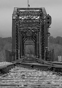 Train Tracks Photos - Railroad Trestle by Rick McKee