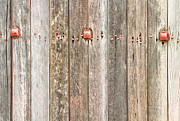 James BO  Insogna - Railroad Wood Texture and Red Bolts