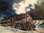 Coal Train Originals - Railway by Christine Jones