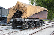 Wagon Wheels Originals - Railway Flat Car by Paul Cannon