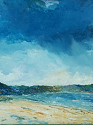 Sand Dunes Paintings - Rain a comin by Conor Murphy
