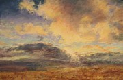 Barbara Smeaton - Rain Along the Hills at...