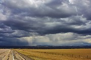 Rain In Wyoming Print by Bruce Bley