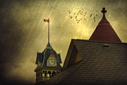 Artography Photos - Rain Over Petrolia by Jimmy Brown