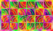 Stripe.paint Prints - Rainbow Bliss 3 - Over the Rainbow H Print by Andee Photography