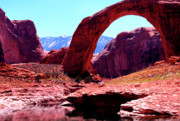 R Arizona Prints - Rainbow Bridge National Monument Print by Thomas R Fletcher