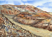 Lynne Bolwell Art - Rainbow Canyon by Lynne Bolwell