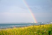 Nantasket Beach Prints - Rainbow Connection Print by Patricia Abbate