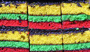 Rainbow Cookies Print by JC Findley