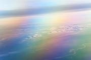 Rainbow Earth. Essence Of Life Print by Jenny Rainbow