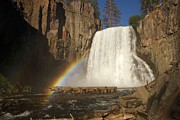 Devils Postpile Photos - Rainbow Falls by Adam Jewell