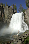 Nevada Falls Photos - Rainbow Falls by Christian Heeb