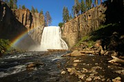 Devils Postpile Photos - Rainbow Falls Creek by Adam Jewell