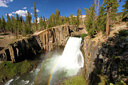 Devils Postpile Photos - Rainbow Falls Gorge by Adam Jewell