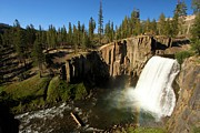 Devils Postpile Photos - Rainbow Falls Spring by Adam Jewell