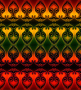 Clayton Bruster - Rainbow Fractal Pattern