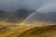 Sue Arber - Rainbow in Glen Affric