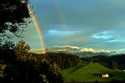 Susanne Van Hulst - Rainbow in the Swiss Alps