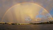 Rainbow Jupiter Inlet Print by Bruce Bain