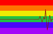 Gay Digital Art - Rainbow Medical by Mark Moore