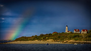 Jeff Folger - Rainbow over Baker...