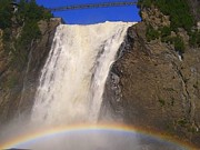 Pat Kunke - Rainbow over Falls