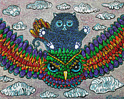 Laura Barbosa - Rainbow Owl Ride