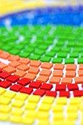 Crafts Photos - Rainbow Pattern by Amy Cicconi