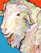 Barnyard Originals - Rainbow Ram by Pat Saunders-White