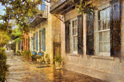 JHR  Photo ART - Rainbow Row Charleston