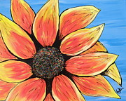 Marcia Weller-Wenbert - Rainbow Sunflower