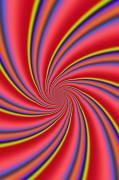 Rainbow Swirls Print by Paul Sale Vern Hoffman