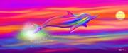 Nick Gustafson - Rainbow Tide Dolphin