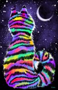 Nick Gustafson - Rainbow Tiger Cat