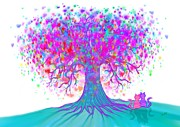 Nick Gustafson - Rainbow Tree of Hearts