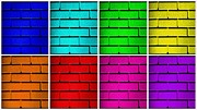 Rainbow Walls Print by Semmick Photo