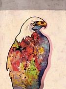American Bald Eagle Painting Prints - Rainbow Warrior - Bald Eagle Print by Joe  Triano