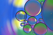 Oil Photo Metal Prints - Rainbows Lollipops And Metal Print by Rebecca Cozart