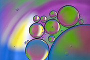 Oil Photo Metal Prints - Rainbows Lollipops  Metal Print by Rebecca Cozart