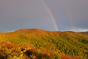 Rachel Cohen Photos - Rainbows on the Ridge by Rachel Cohen