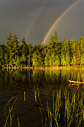Thomas Pettengill - Rainbows over Otter Lake