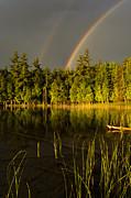 Thomas Pettengill - Rainbows over Otter Lake