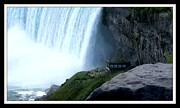 Gail Matthews - Raincoats needed under Niagara Falls